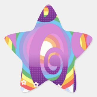 ABC 60s Ireland Star Sticker