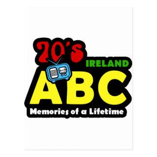 ABC 70s Ireland Radio Postcard