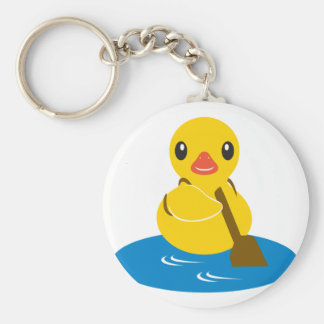 ABC Animals - Paddle Duck Keychain