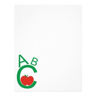 ABC Apple Letterhead Design