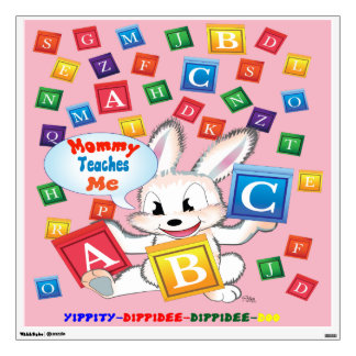 """""""ABC"""" are so much Fun to learn! Wall Decal"""