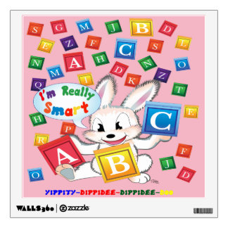 """""""ABC"""" are so much Fun to learn Wall Decal"""