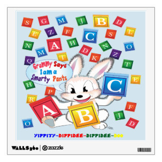 """""""ABC"""" are so much Fun to learn Wall Sticker"""