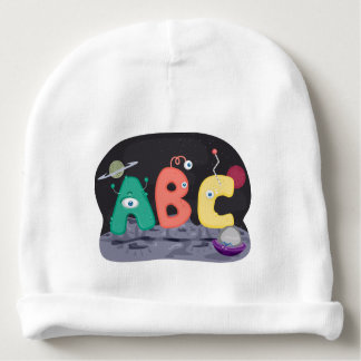 ABC baby beanie