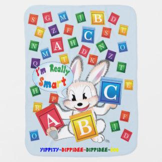 """ABC"" Baby Blanket (Blue)"