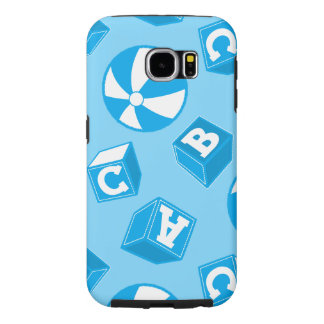 ABC blocks and balls Samsung Galaxy S6 Cases