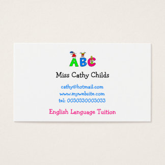 Abc, Business Card