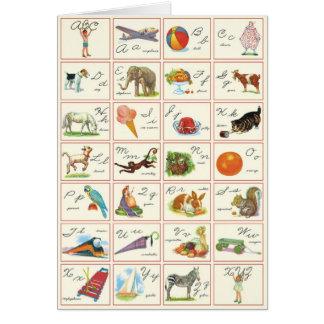 ABC - Greeting card