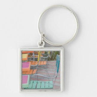 ABC Islands, ARUBA, Palm Beach: Colorful Cafe Key Chains