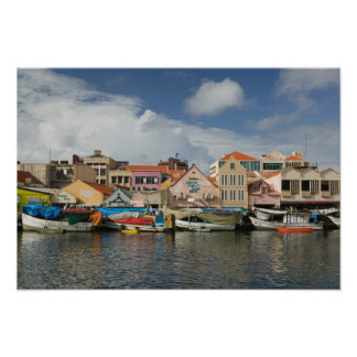 ABC Islands, CURACAO, Willemstad: Punda, Poster
