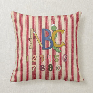 ABC & Numbers Kids MoJo Throw Pillow