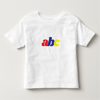 abc Toddler Gear Toddler T-shirt