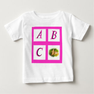 abc window pain butterfly baby T-Shirt