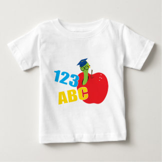 ABC Worm Baby T-Shirt