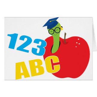 ABC Worm Card