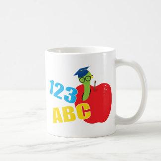 ABC Worm Coffee Mug