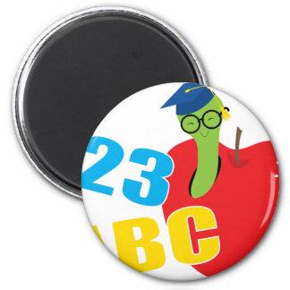 ABC Worm Magnet