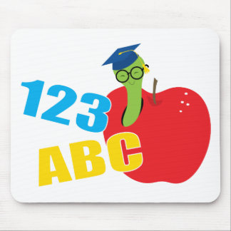 ABC Worm Mouse Pad