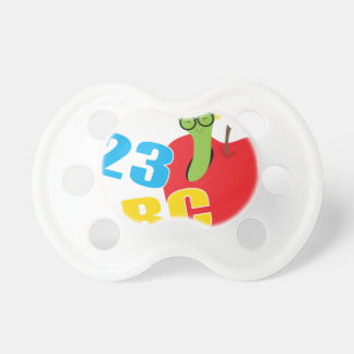 ABC Worm Pacifier