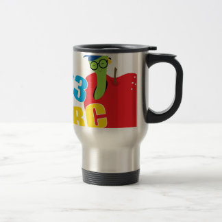 ABC Worm Travel Mug