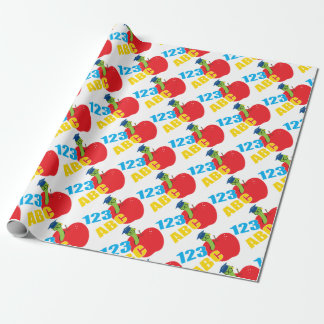 ABC Worm Wrapping Paper