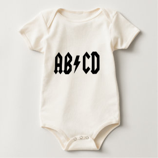 ABCD Baby T-Shirt