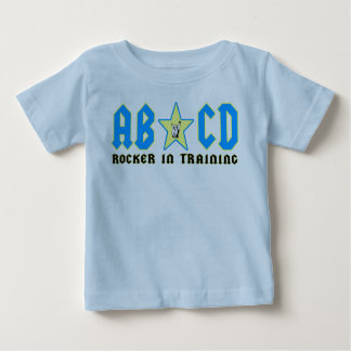 abcdblue baby T-Shirt