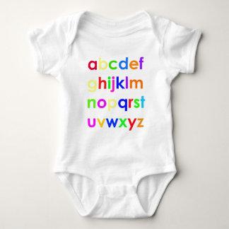 ABC's Baby Bodysuit