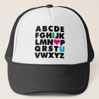 ABC's of Love Trucker Hat