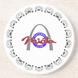 ABCs of Miata-Logo Coaster