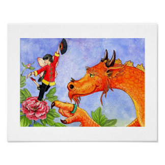 ABC's print of Xiao Xiong the wise dragon.