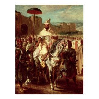 Abd Ar-Rahman  Sultan of Morocco Postcard