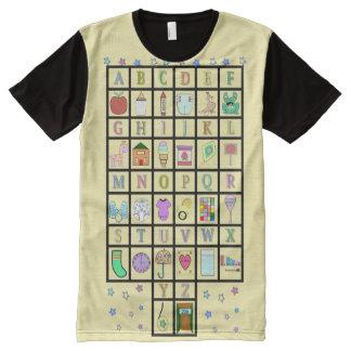 ABDL Alphabet all over | ABDL | Baby4life All-Over-Print T-Shirt