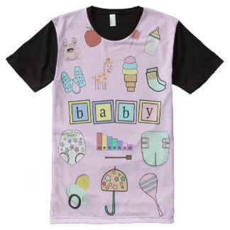ABDL fun | Cute ABDL | Baby 4 Life All-Over-Print T-Shirt