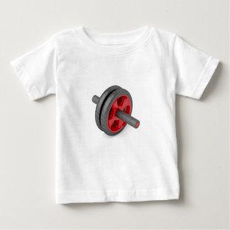 Abdominal toning wheel baby T-Shirt