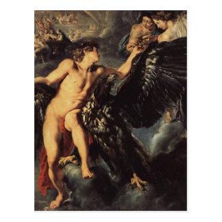 Abduction of Ganymed - Rubens Postcard