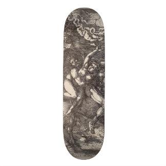 Abduction of Proserpine on a Unicorn by Durer Skateboard Deck