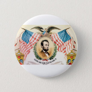 abe banner art 2 inch round button