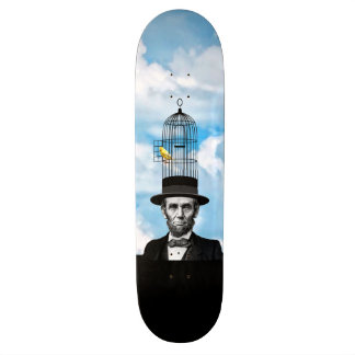 Abe Canary Custom Skateboard