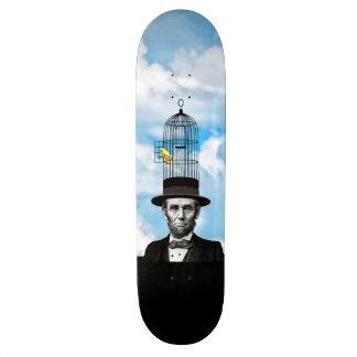 Abe Canary Custom Skateboard