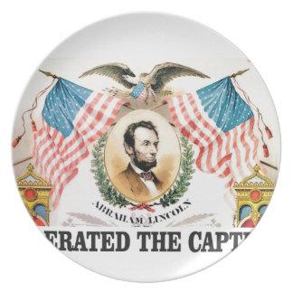Abe liberator Lincoln Plate