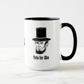 Abe Lincoln campaign mug