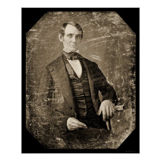 Abe Lincoln Daguerreotype 1846 Poster