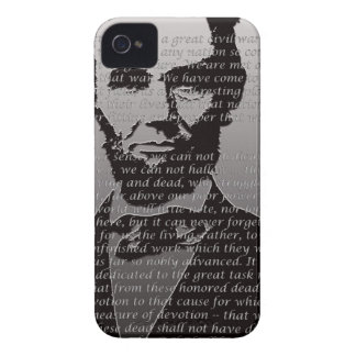 Abe Lincoln Gettysburg Address iPhone 4 Cover