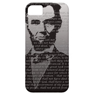 Abe Lincoln Gettysburg Address iPhone 5 Cases