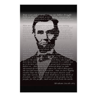 Abe Lincoln Gettysburg Address Stationery
