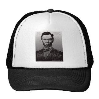 Abe Lincoln Gettysburg Address Trucker Hat