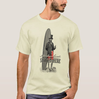 Abe Lincoln Surfer T-Shirt