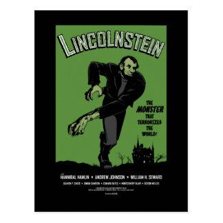 Abe Lincolnstein Abraham Lincoln Frankenstein Postcard