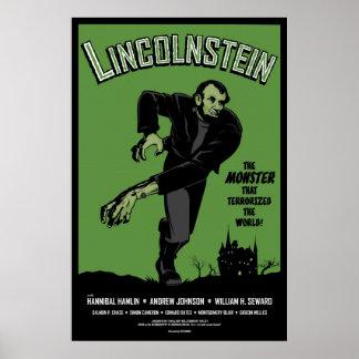 Abe Lincolnstein Abraham Lincoln Frankenstein Poster